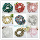 72er Kristall Glas 8MM Glasperlen LOSE PERLEN DIY Beads VERBOGEN Facette schmuck