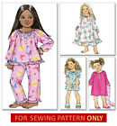 SEWING PATTERN! MAKE CHILD~GIRL PAJAMAS~NIGHTGOWN~NIGHTIE~PJS! SIZE 2~5 OR 6~8!