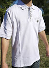 NWT AUTHENTIC MEN'S CROWN HOLDER WHITE COLOR POLO SHIRTS