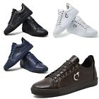 Mens Crocodile Pattern Faux Leather Dress Shoes Smart Wedding Size 6 7 8 9 10 11