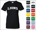 Lions College Letter Woman's T-shirt