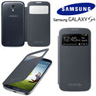 NEW GENUINE SAMSUNG GALAXY S4 i9500 S VIEW COVER FLIP CASE ORIGINAL PACKAGING