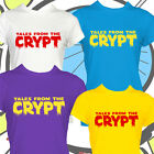 Retro Comic Tshirt Ladies Horror Tales From The Crypt Keeper T Shirt New Girls