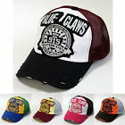Vintage Distressed Patch Trucker Hat Multi Color Summer Mesh Cap *Free Shipping*