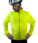 ATD Cycling Windbreaker Biking Jacket High Visibility Yellow Water Resistant