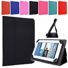 Universal Adjustable Tablet Clamping Folding Protective Case Cover w / Stand