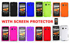 Screen Protector+1 Solid Hard Case For Samsung Galaxy Precedent SCH-M828C Phone