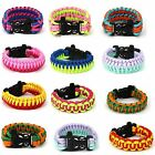 Paracord Cord Outdoor Sports Survival Bracelet FOR Camping Hiking Wristband New