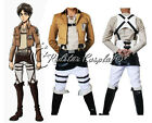 Shingeki no Kyojin Attack on Titan Eren Jäger Cosplay Costume Shoes Boots Cloak