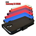 6 COLOUR WALLET BOOK FLIP MOBILE PHONE CASE COVER FOR SAMSUNG GALAXY S4 i9500