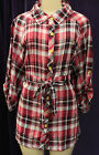 NEW AUTHENTIC WOMEN ECKO RED BUTTON DOWN SHIRTS SIZE 3XL