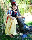 Halloween Xmas Party Girls Deluxe Snow White Princess Birthday Dress Costume