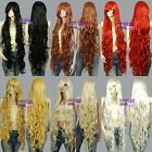 Kanekalon All Color 1.2m Extra Long Curly Cosplay Wigs