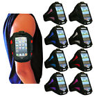 NEW 8 COLOUR SPORT RUNNING GYM ARMBAND STRAP PHONE COVER HOLDER FOR HTC ONE V