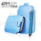 LEATHER PULL TAB SKIN CASE COVER POUCH A...