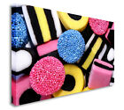 Abstract Sweets Liquorice All Sorts Wall Picture Canvas Prints Art Cheap