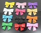 "2"" Embroideried Sequin Bows Girls Hair Accessories DIY Knot Applique Mixed Color"