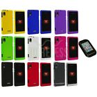 Color Hard Snap-On Cover Case+Sticky Pad for Motorola Droid 2 A955 Global