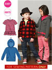SEWING PATTERN! MAKE BOYS~GIRL TOPS~JACKETS! SIZES TODDLER 2 TO CHILD 8! SCHOOL