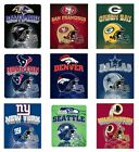 "NFL Football 50"" x 60"" Fleece Blanket, Mirror Style - Pick Your Team"