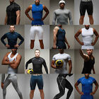 Mens Boys Surfing Swim Shirts Pants Shorts Rash Guard Vest Swimwear Wetsuits MMA