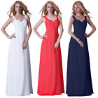 Sexy Long Bridal Wedding Evening Party Formal Prom Gown Cocktail Pageant Dresses