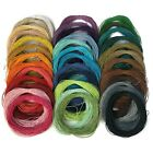 Wax Cotton Cord 1.5mm, Jewellery Bracelet Necklace Macrame Cord, String (e,f)