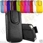 Various Colours Magnetic Pull Tab Case Cover For Huawei Ascend G300