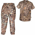 Jack Pyke Grassland Camo Hunter Trousers & Short Sleeve T-Shirt Shooting Hunting