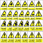 Countryside information danger warning notices private Land signs and stickers 1