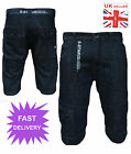 Mens Soulstar Shorts Denim  Jeans Cargo Combat Military Style Cotton Casual New