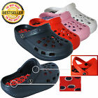 Ladies Mens Garden Clogs Sandal Beach Hospital Holiday Acupuncture Slippers