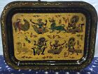 BL 102 Traditional Burmese Lacquer Tray (4 different designs)