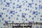 100% COTTON PRINT FABRIC MATERIAL CRAFT PATCHWORK BABY BOY QUILTS CURTAINS HC878