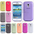 1 Pcs Ultra-thin 0.5mm Transparent Matte Case For Samsung Galaxy S Duos S7562