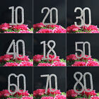 2 Rows Rhinestone Diamante Letter Monogram Cake Toppers For Wedding Decoration