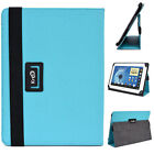 New! 10 Kroo B2 Universal Adjustable Folio Stand Cover for Tablets & E-Readers