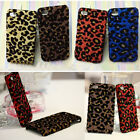Bling Shiny Leopard Printed Pattern Hard Case Cover Skin For Apple Iphone 4 4S 5