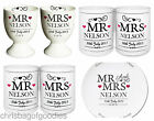 PERSONALISED Mr Mrs Gifts for COUPLE Newly Weds Wedding PRESENTS Anniversary