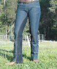 Jodhpurs bootcut riding Pants Denim Jeans Westernstyle stretch sticky bum 8 - 22