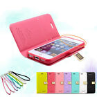 Ailun Slim Wallet Leather Case Flip Cover Soft TPU Skin For Apple iPhone 5S 5 5g
