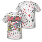 DC Batman The Joker Playing cards #11 Sublimation ALL OVER Vintage T-shirt top
