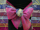 250 x WHOLESALE Embroidered Organza CHAIR SASHES Ties Bow...