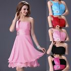 Falbala Sash Formal Evening Prom Gown Wedding Bridesmaid Cocktail Party Dresses