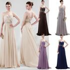 Elegant Shiny Formal Prom Bridesmaid Wedding Party Dress Evening Cocktail Gowns