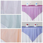 "20 pc 72x72"" Sheer Organza Overlays Wedding Wholesale Supplies FREE SHIPPING"