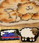 NEW SMALL SOFT KID'S BEDROOM PLAYROOM FAUX FUR SHEEPSKIN FLOOR RUGS COLLECTION