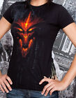 Diablo III 3 Official Gamer Gaming Tee Shirt Women TShirt Top Evil Lord Limited