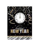 New Years Eve Decorations Confetti Scenesetter Banner Tablecloth Cover Balloons
