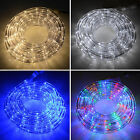 8m x 12mm Connectable Indoor/Outdoor LED Christmas Crimbo Rope Light/Power Cable
